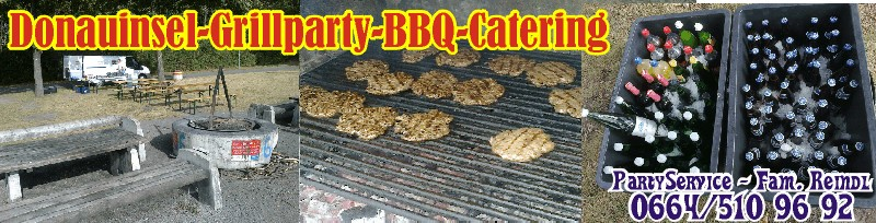 Donauinsel Grillparty BBQ-Catering & PartyService
