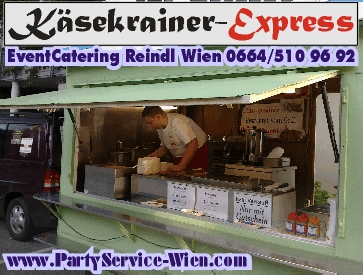 K�sekrainer-Express Wien - mobiler W�rstelstand - EventCatering & PartyService
