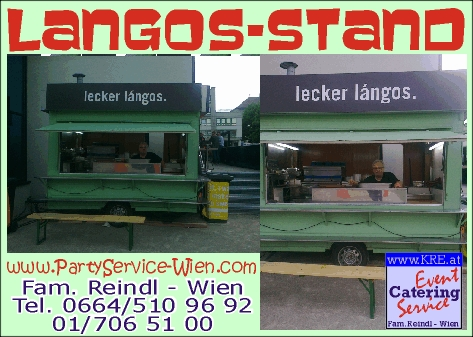 mobiler Langos-Stand als Event-Highlight